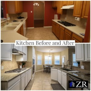 Old to SOLD Kitchen