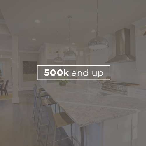 homes 500000 and up