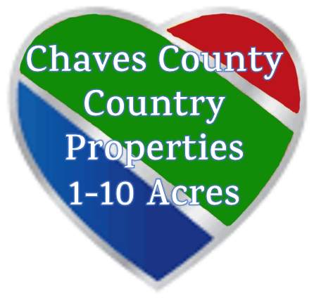 Chaves County Properties with 1-10 Acres