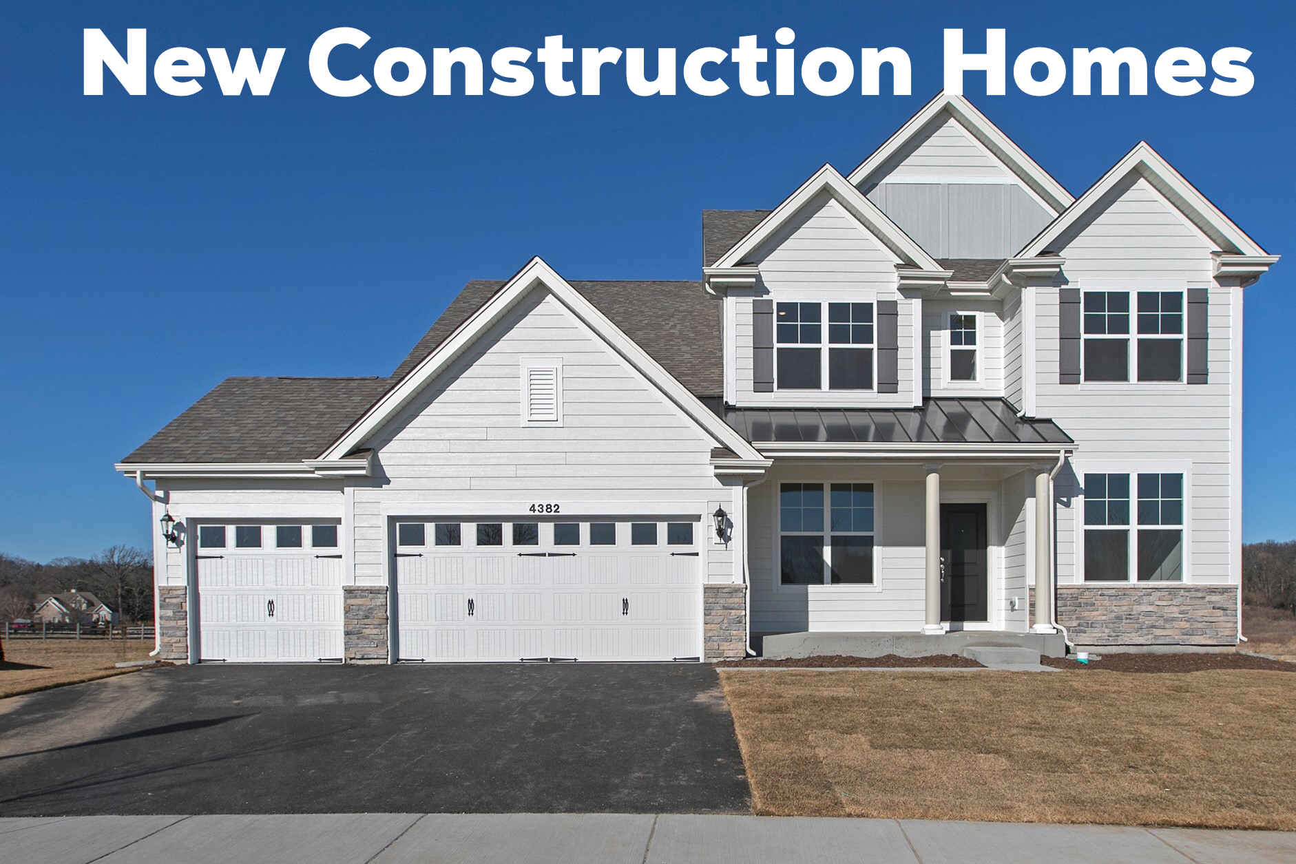 Find NEW Construction Homes