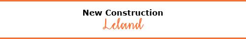 New Construction Leland