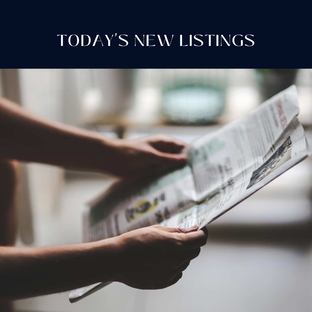 New Homes on the Market