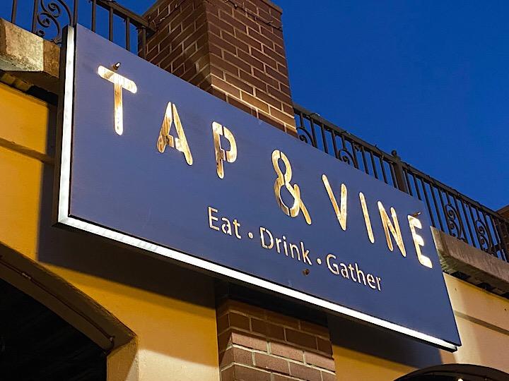 Tap & Vine restaurant in Old Auburn, CA