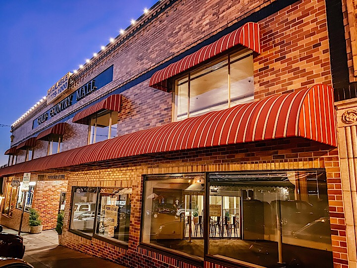 gold country mall building historic downtown auburn California