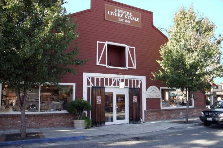 historic old livery stable building old town auburn