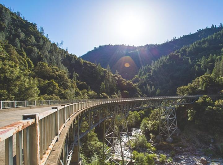 Forresthill bridge Clementine Trail