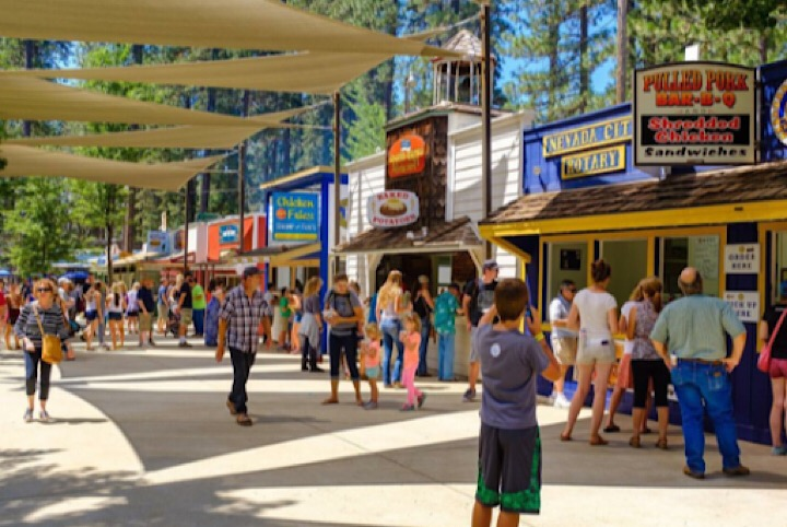 Nevada County Fairgrounds food shops