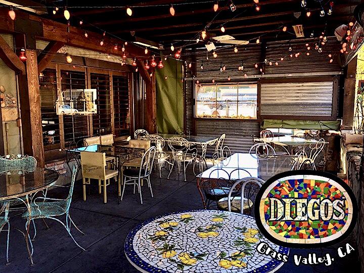 Diego's Restaurant, Grass Valley California