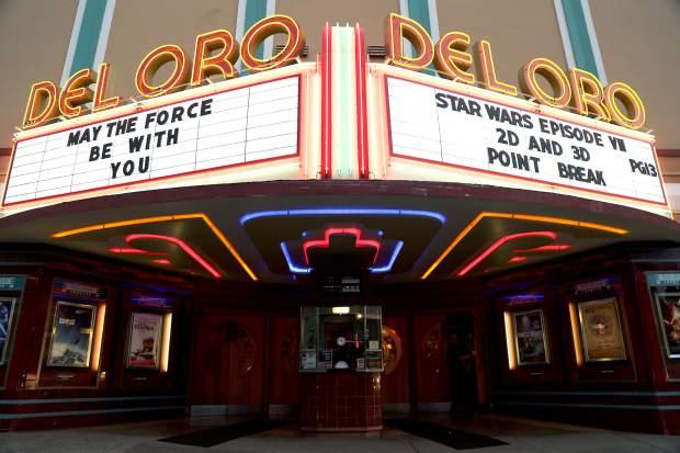 Del Oro movie theater Grass Valley California