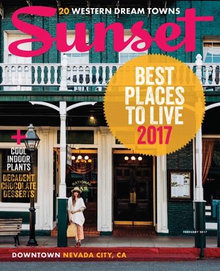Sunset magazine cover