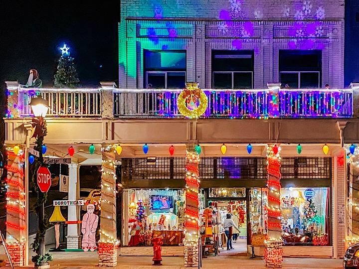 Sutter Street, Folsom, CA Christmas Lights