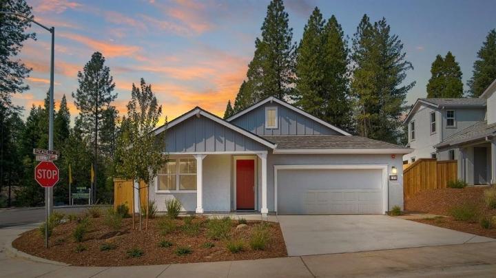 104 Exterior view of home at Berriman Loop, Grass Valley, California, 95949