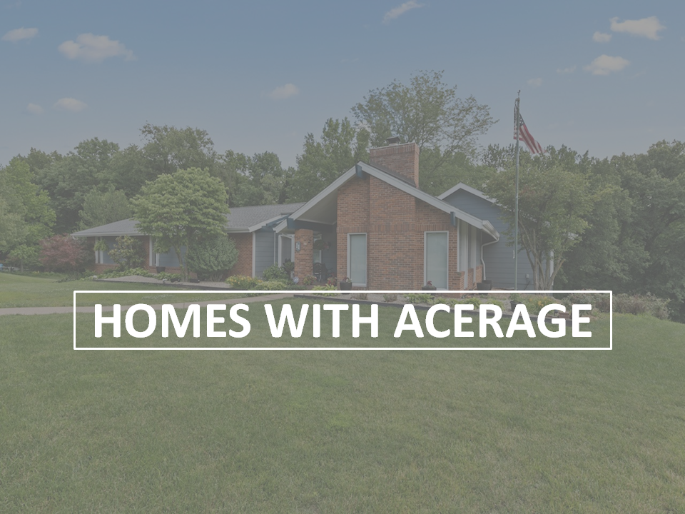 HOMES WITH ACERAGE