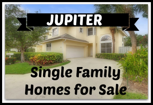 Jupiter Single Family Homes for Sale