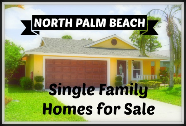 NORTH PALM BEACH SINGLE FAMILY HOUSES FOR SALE