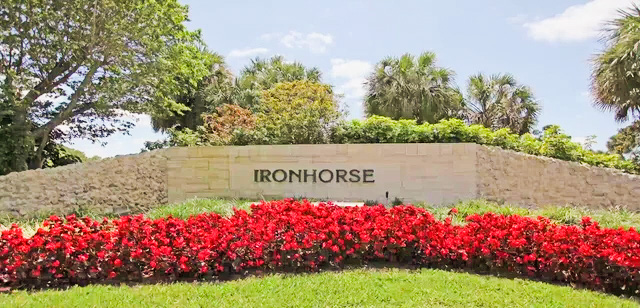Ironhorse Country Club Homes for Sale in West Palm Beach, FL 33412 community image