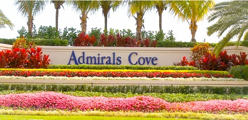 Admirals Cove Homes for Sale in Jupiter Fl 33477 community image