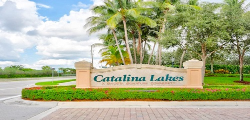 Catalina Lakes Community Homes for Sale in Palm Beach Gardens, FL. 33410 community image