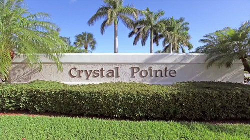Crystal Pointe Community Homes for Sale in Palm Beach Gardens FL. 33410 community image