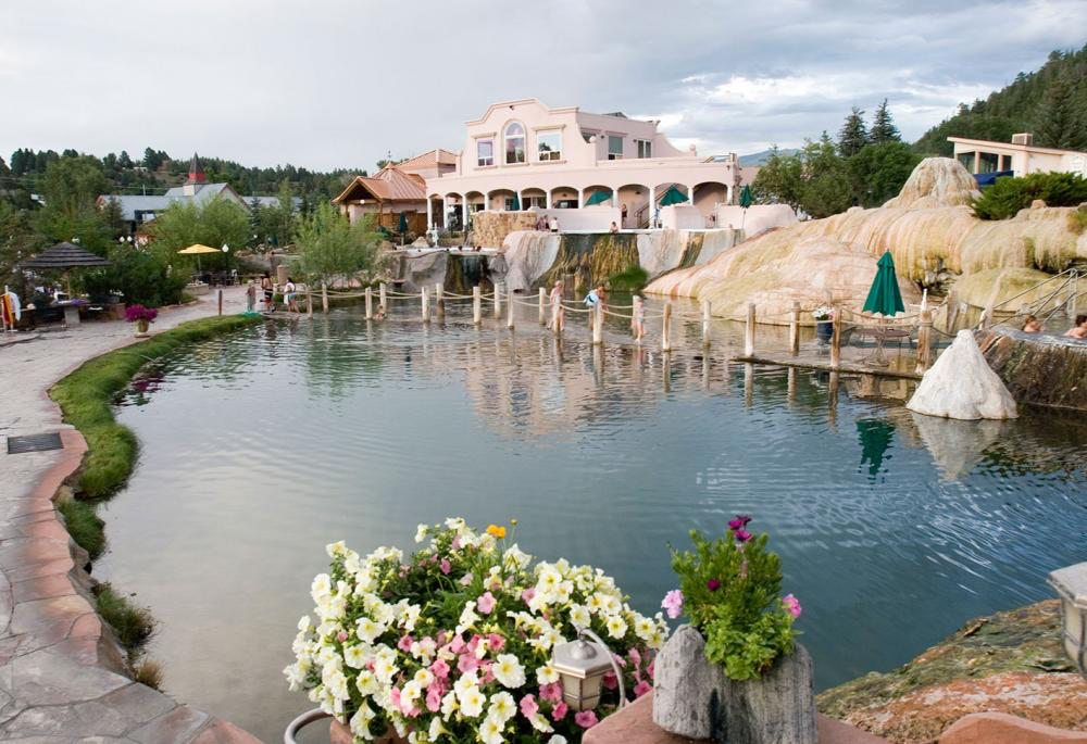 The Springs Resort and Spa hot springs in Pagosa Springs, Colorado