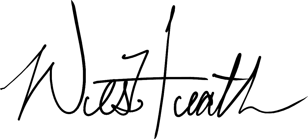 Wesley Heath Signature