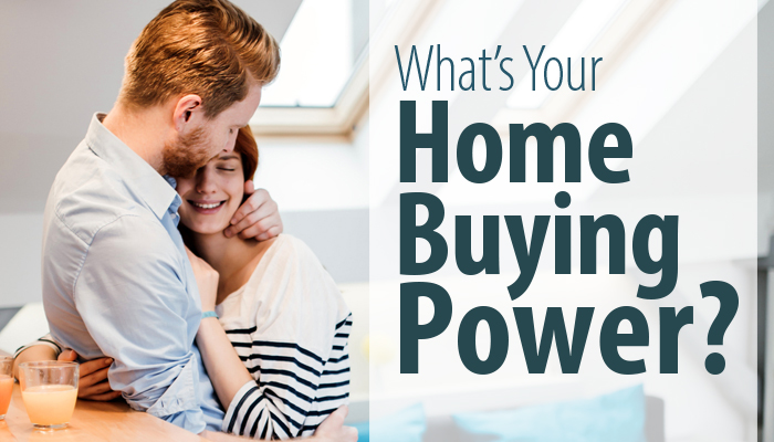 Whats Your Home Buying Power?