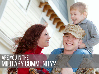 In the Military Community?
