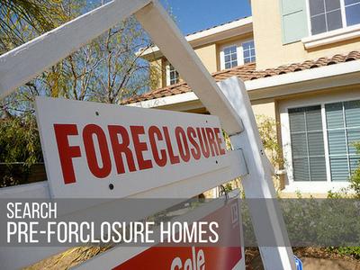 Search Pre-Forclosure Homes