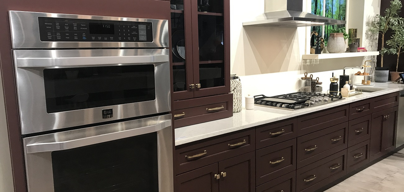 Kitchen with espresso-colored cabinetry
