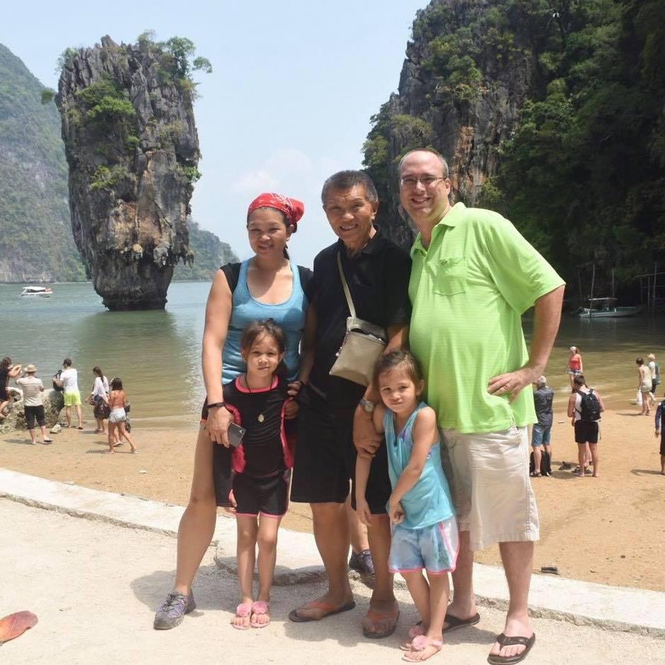 Sean Leonard's family