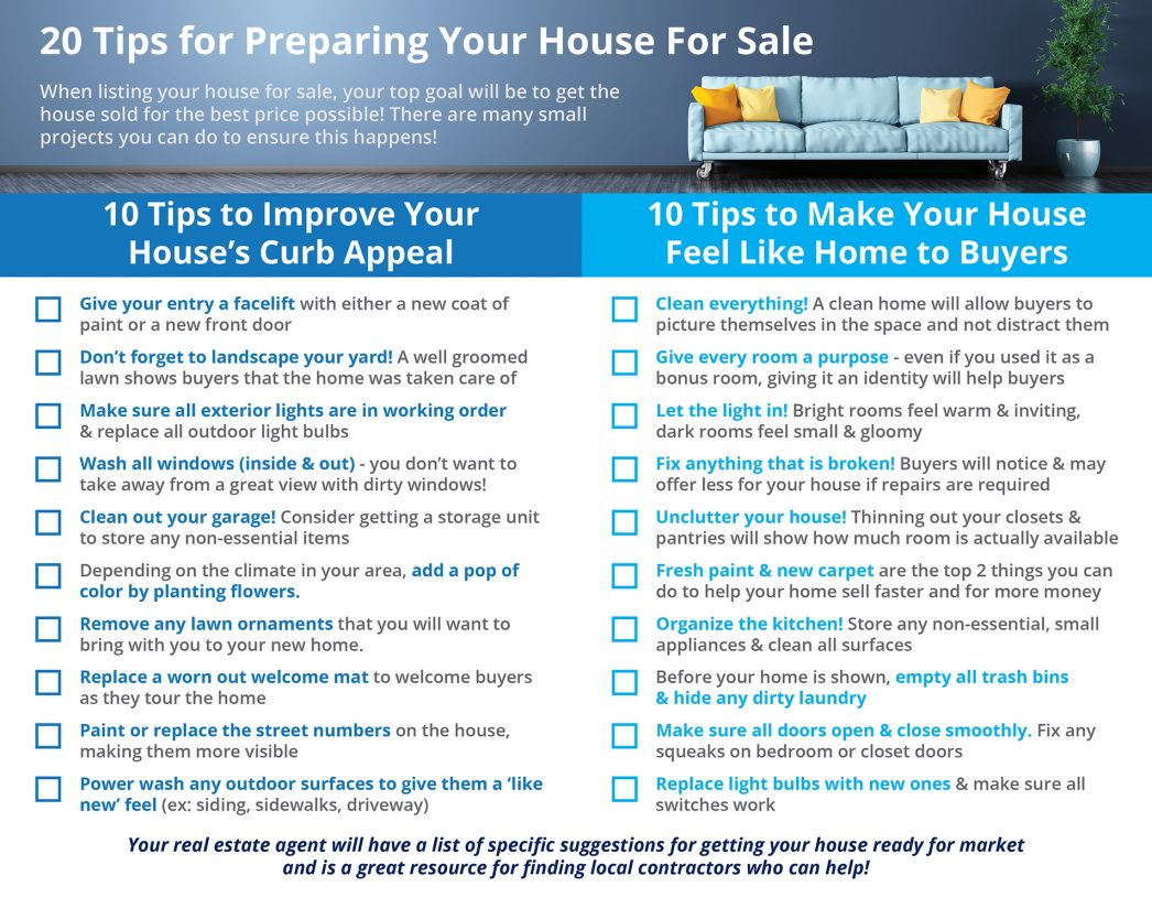 Tips for Preparing Your House for Sale This Spring [INFOGRAPHIC] | MyKCM