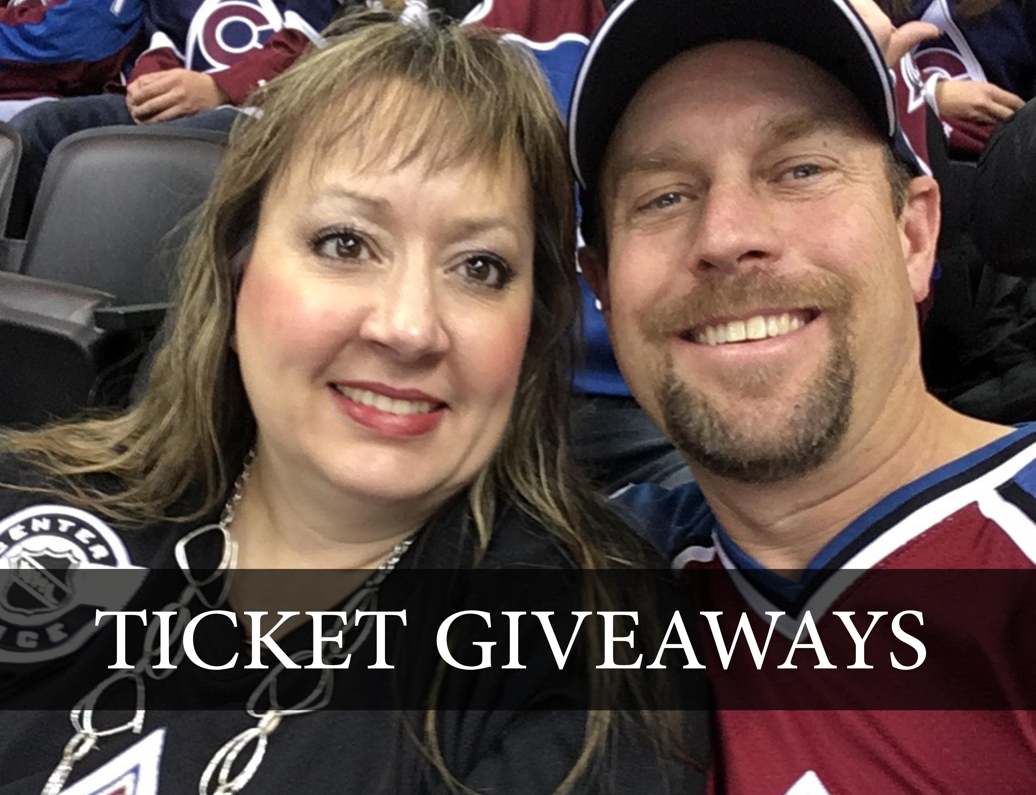 Ticket Giveaways